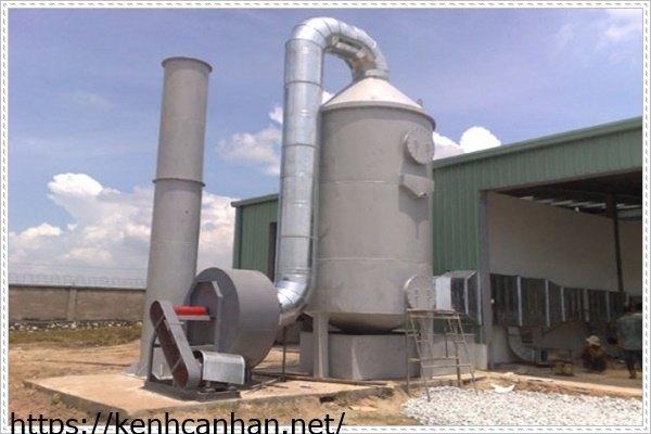 hệ thống xử lý nước thải bằng phương pháp oxi hóa khử