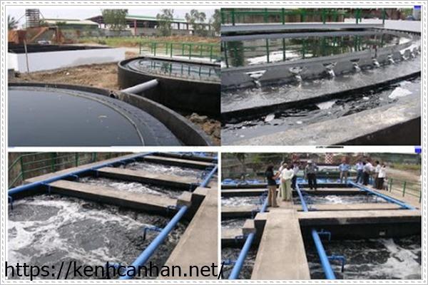 nhà máy xử lý nước thải bằng phương pháp oxi hóa khử